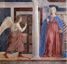 Piero della Francesca Annonciation